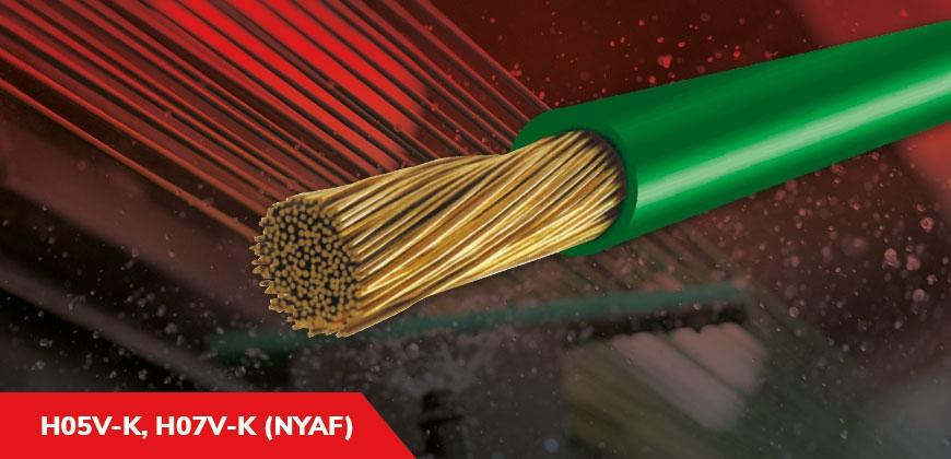 H05V-K, H07V-K (NYAF)